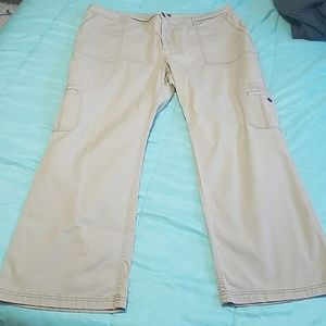 Marina stretch cargo pants 22W